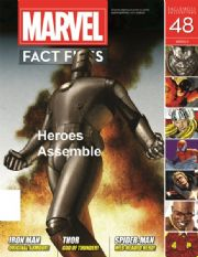 Marvel Fact Files #48 Eaglemoss Publications